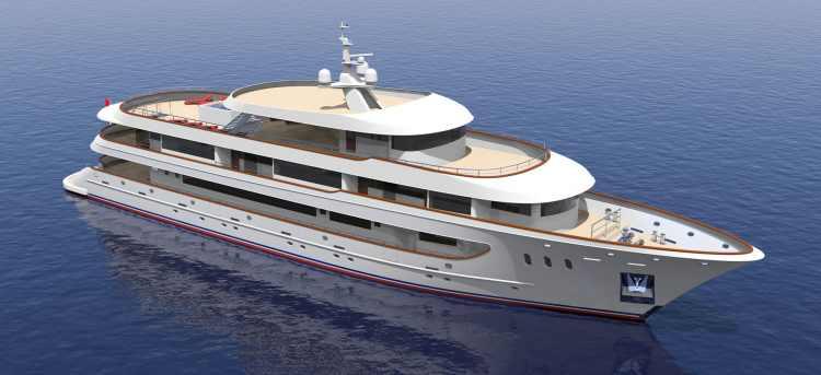 MV Rhapsody Yacht artist impression