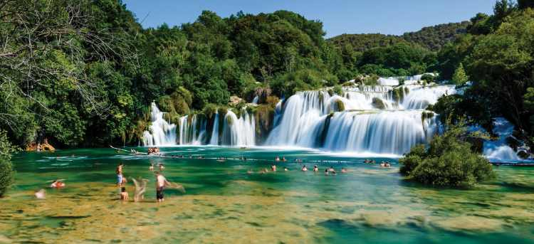 Krka National Park waterfalls | Croatia | Late Availability: Yacht Cruises