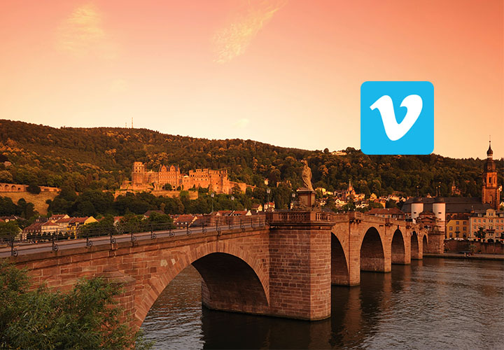 South Africa with Vimeo Logo