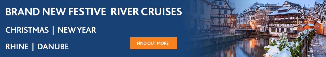 Brand new festive river cruises