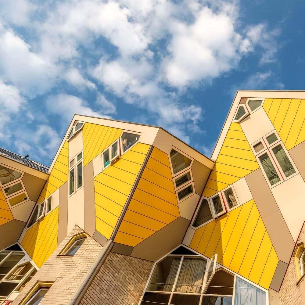Kubuswoningen Cube Houses in Rotterdam