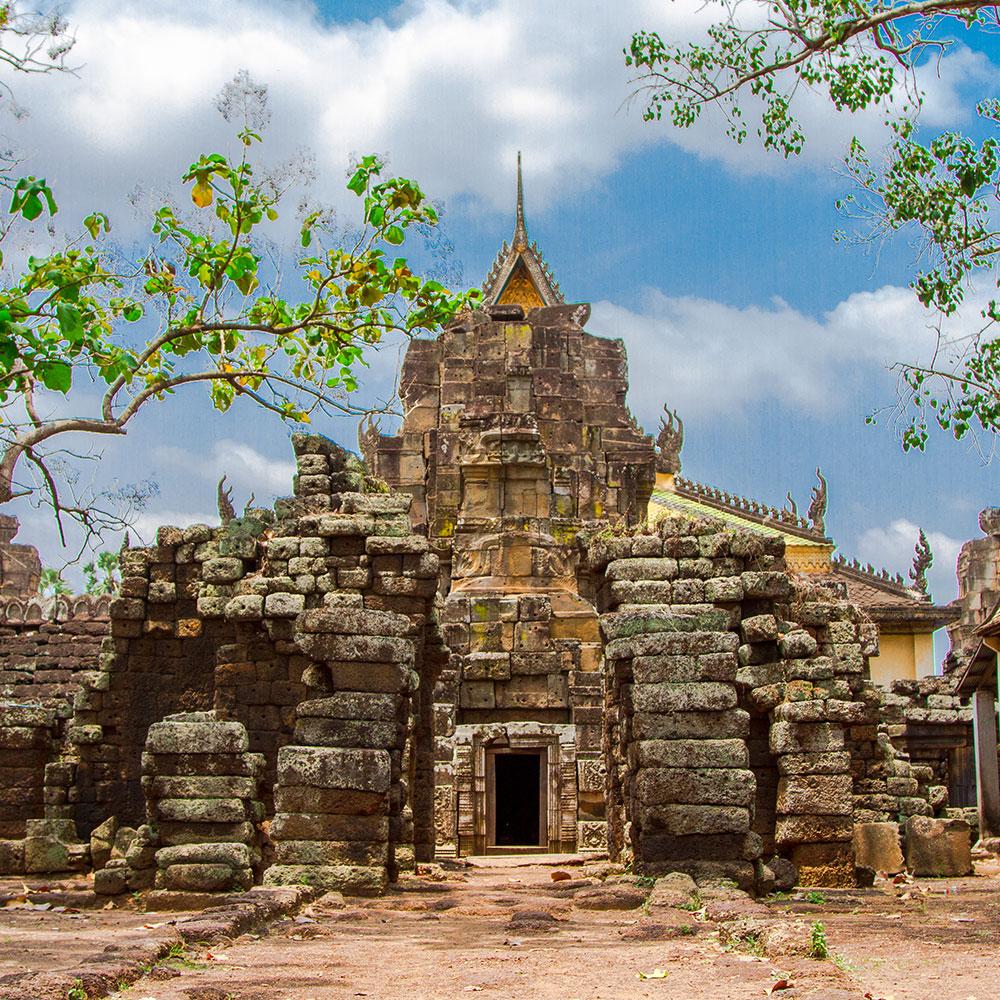 Wat Nokor near Kampong Cham