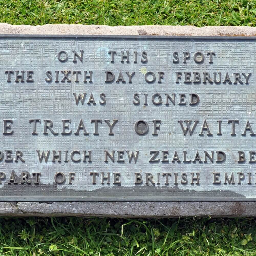 Treaty of Waitangi memorial