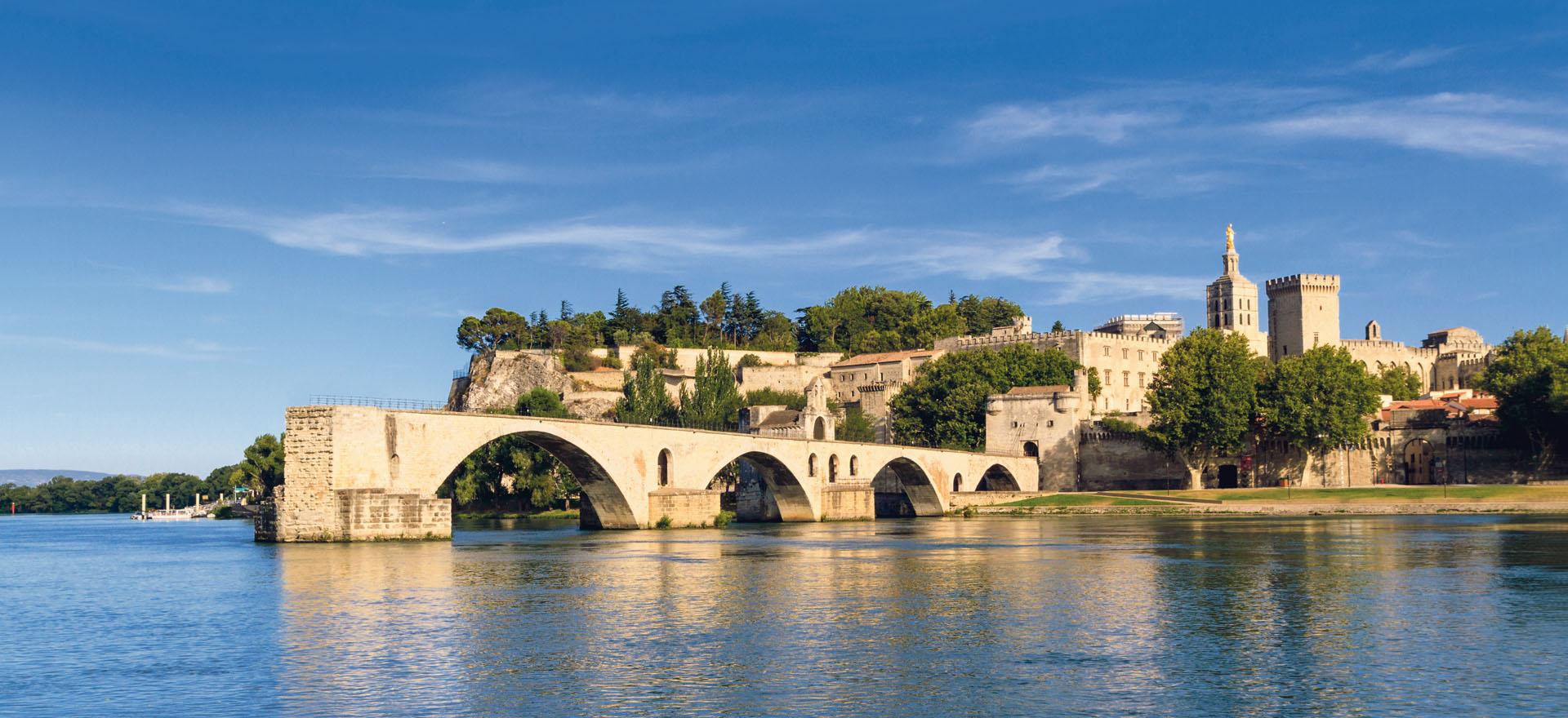 Avignon roman bridge
