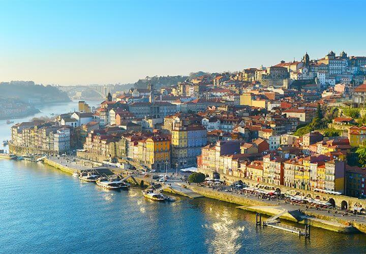 Porto in Portugal along the Douro river