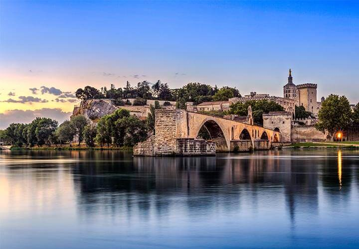 Pont du Gard along the Rhone river