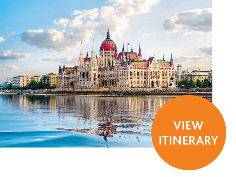 Hungarian Parliament Building by the Danube River | View Itinerary