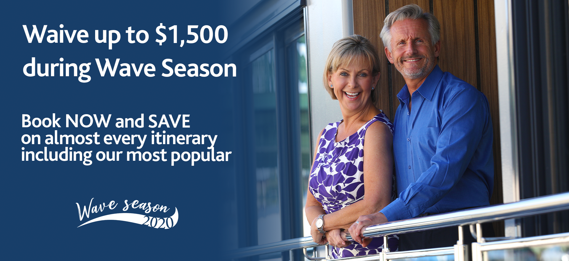 Wave Season 2020 | river cruise promotions