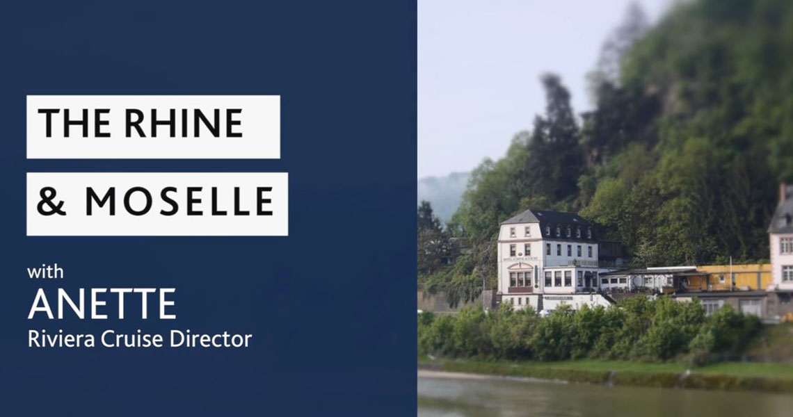 Anette Cruise Director on Rhine and Moselle rivers