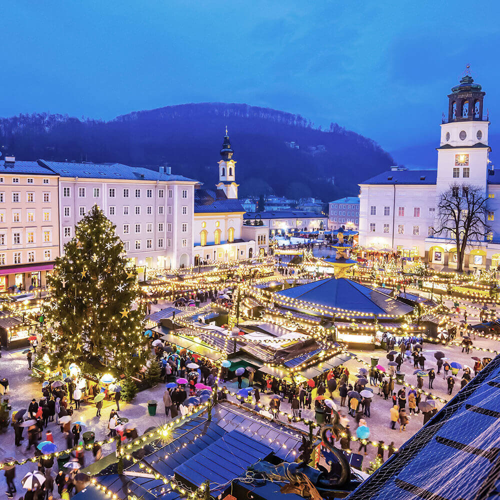 Salzburg at Christmas