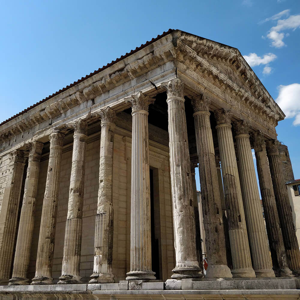 Roman Temple of Augustus and Livia in Vienne