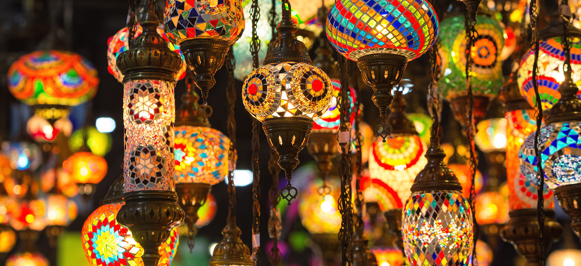 lamps | market | marrakech | morocco