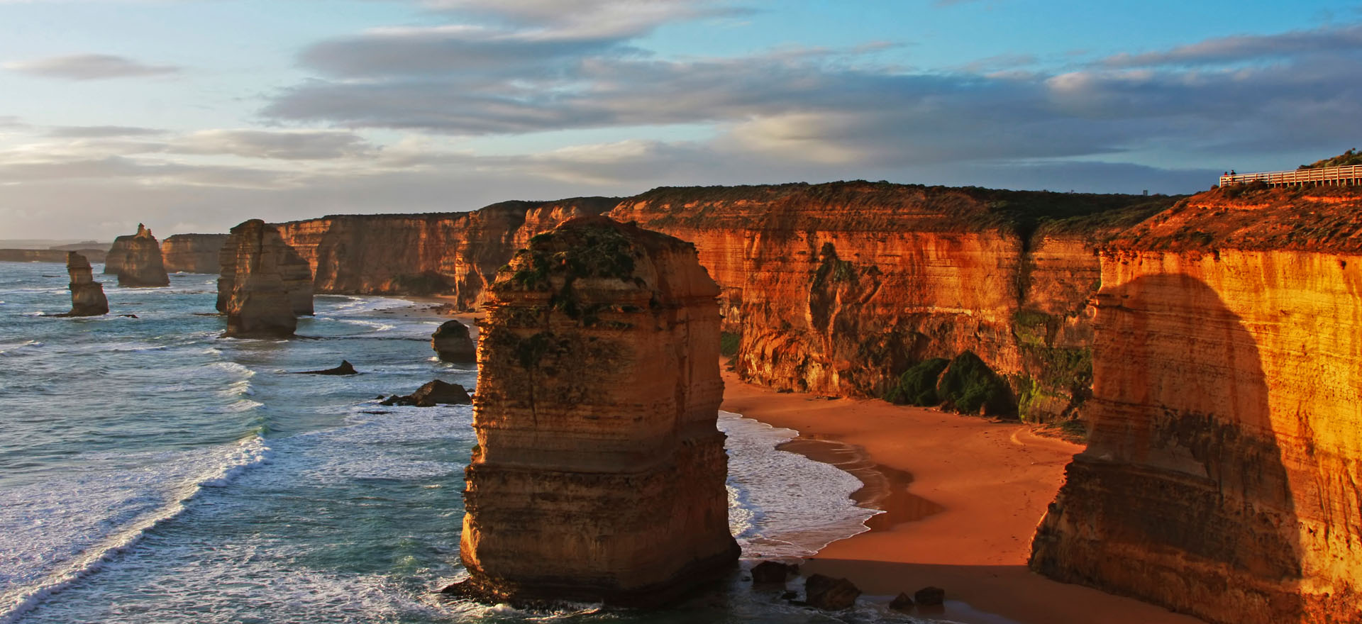 Twelve Apostles rock formations, Great Ocean Road