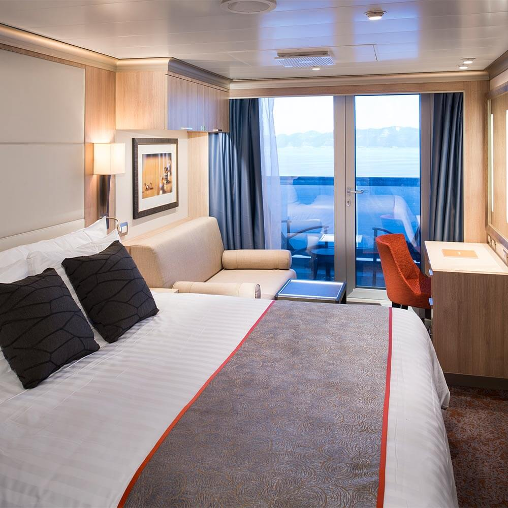 Category V - Verandah Stateroom