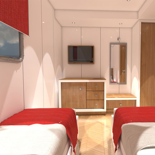 Category A+ Cabins