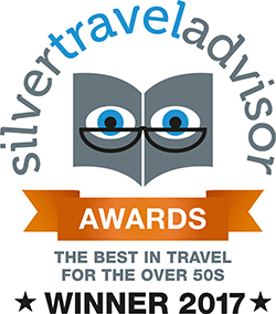 Silver Travel Advisor Awards Winner 2017 logo
