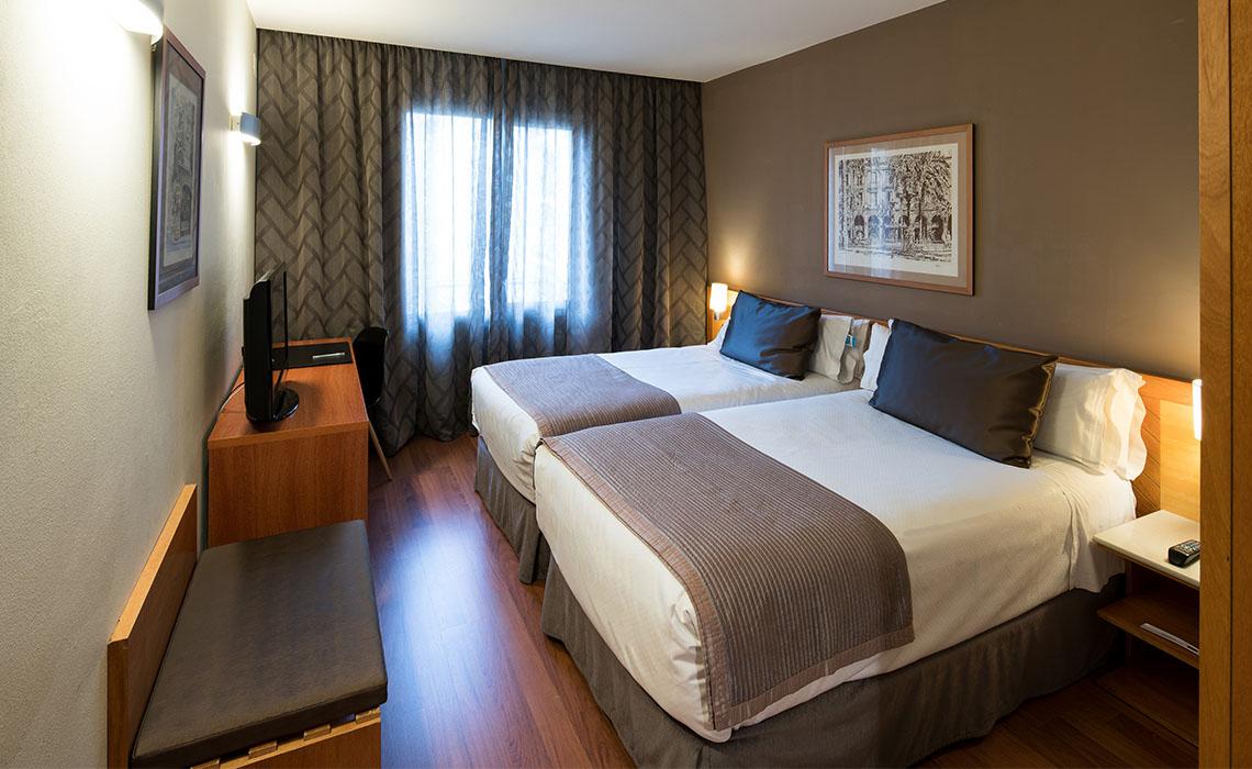 Catalonia La Pedrera Hotel Twin Room