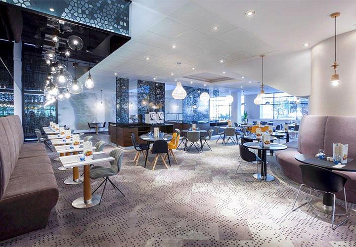 Novotel Krakow Centrum modern restaurant