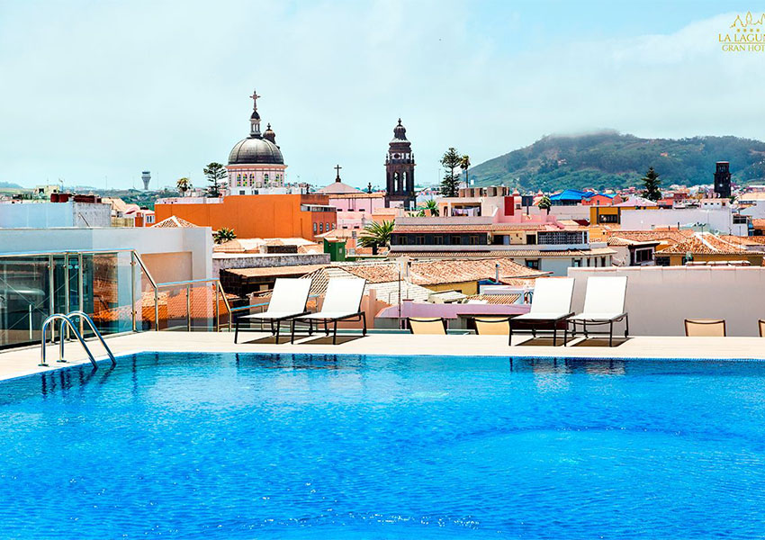 La Laguna Gran Hotel rooftop pool
