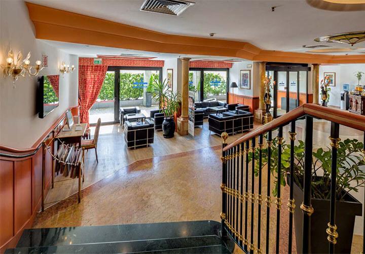 Venice Mestre Hotel Tritone - Reception Area