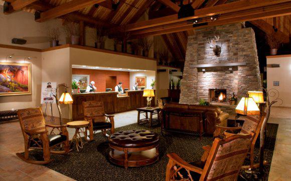 Best Western Ruby's Inn lobby reception