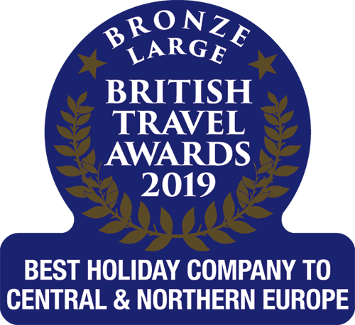 Bronze Award Best Holiday Company to Central & Northern Europe 2019