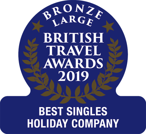 Bronze Award Best Singles Holiday Company 2019
