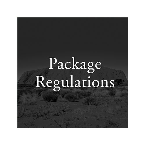Package Regulations square tile