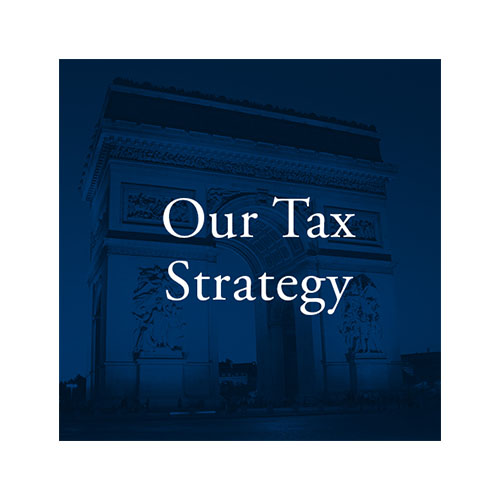 Our Tax Strategy square tile