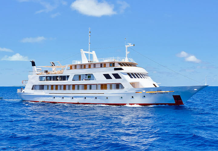 MV Yasawa Princess ship in the Maldives