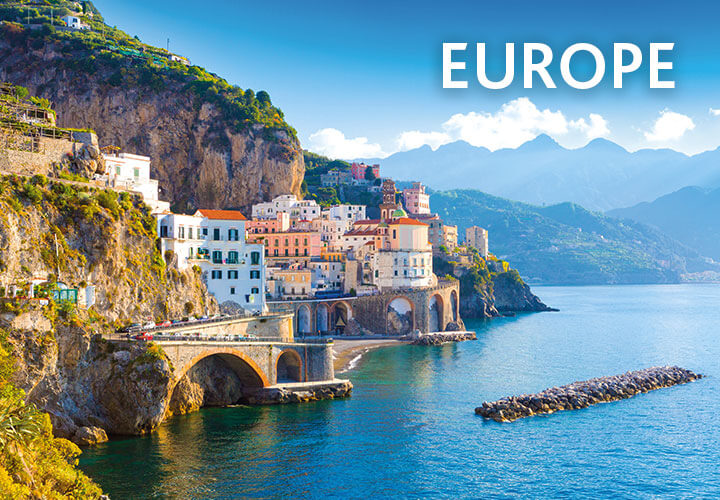 Picturesque town on the Amalfi Coast, Italy | Holidays to Europe