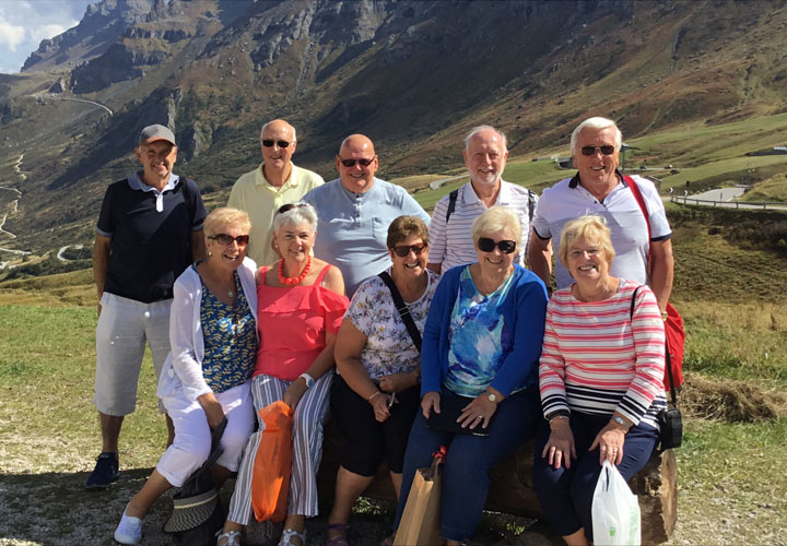 Group of clients in Transylvania