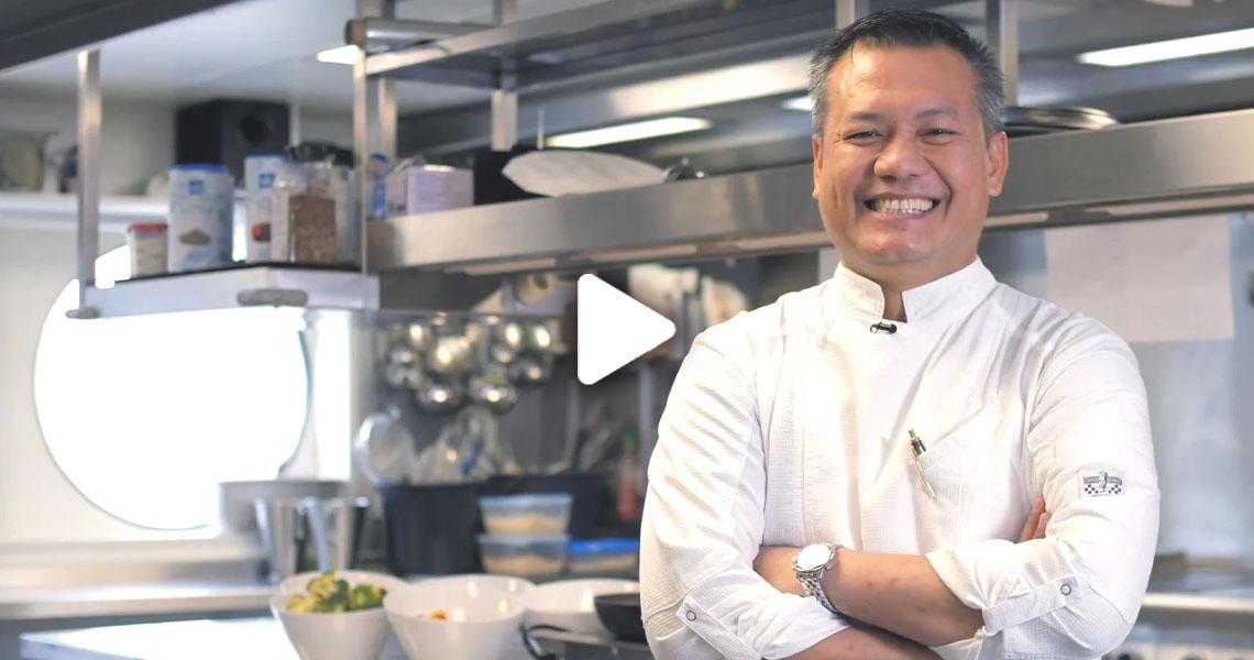 Suhendro, Executive Chef on Riviera Travel ships