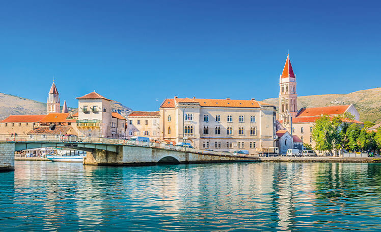 Trogir waterfront, Croatia