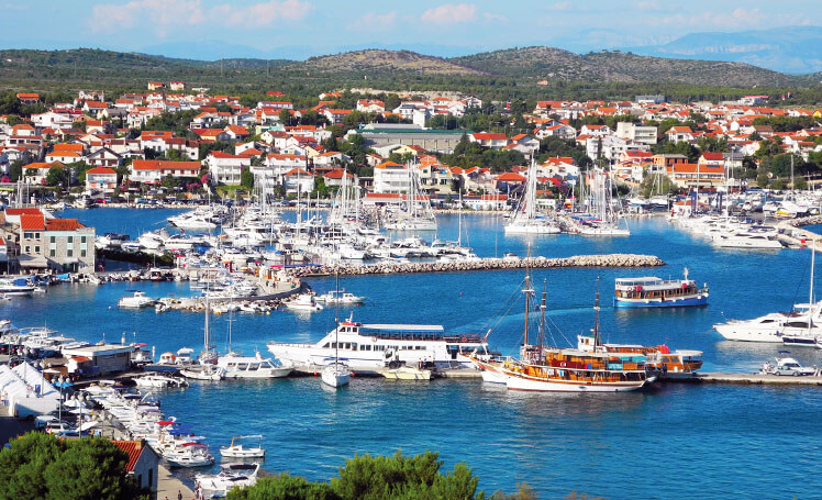 Vodice Harbour, Croatia