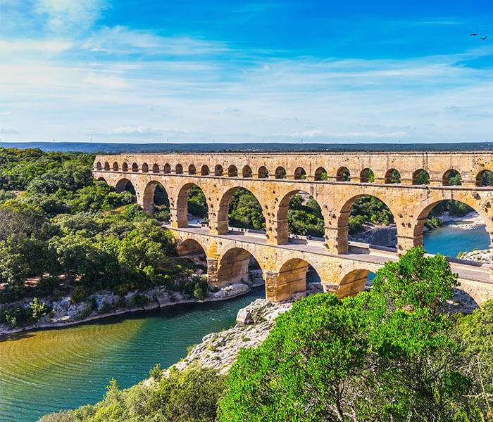 Pont D'Arc in Provence, France | River Cruises in May 2019