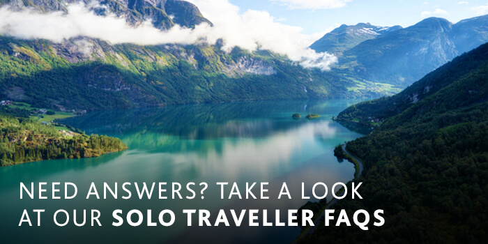 Stunning clear blue water Fjord in Norway | Solo Traveller FAQs