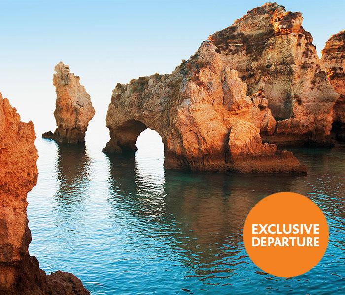 Limestone rocks Ponta da Piedade Algarve