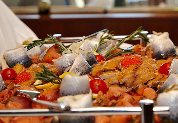 Fish and tomato dish