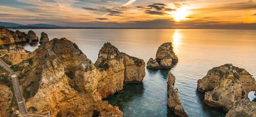 Ponta de Piedade, Algarve, Portugal
