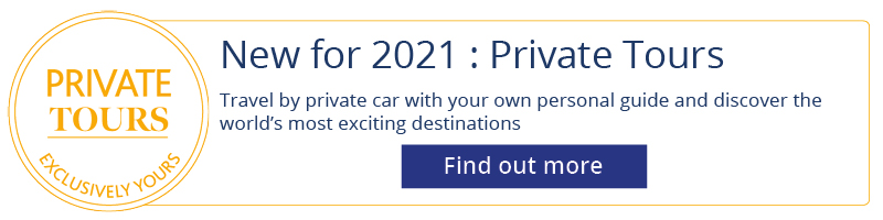 Private tours logo | New for 2021 | Private Tours