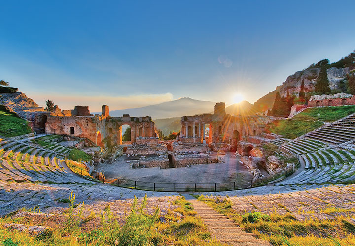 Ancient Greek theatre in Taormina