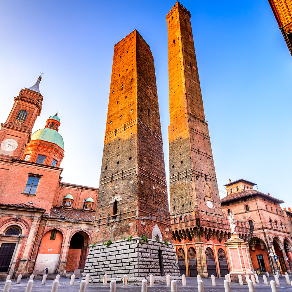 Two Towers of Bologna