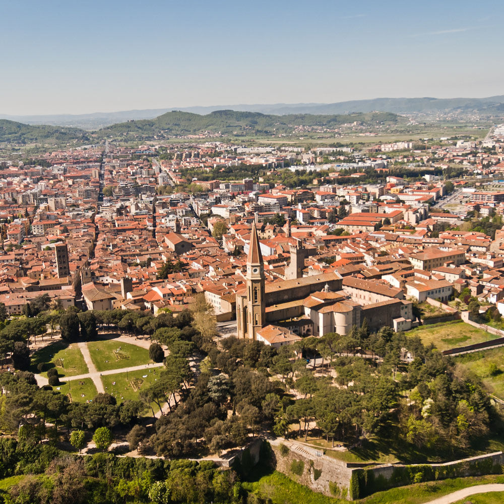 Arezzo town