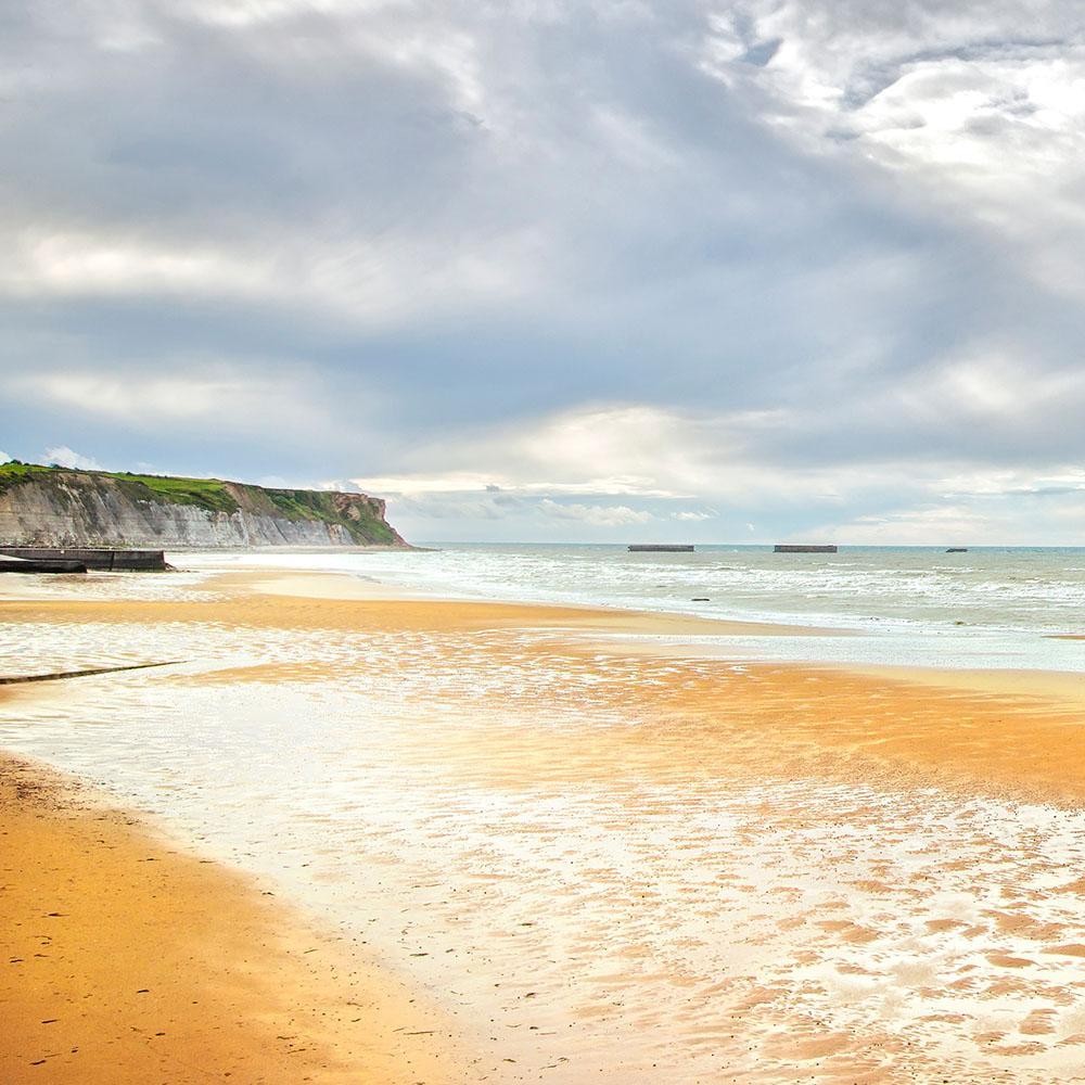 Gold Beach, Arromanches-les-Bains