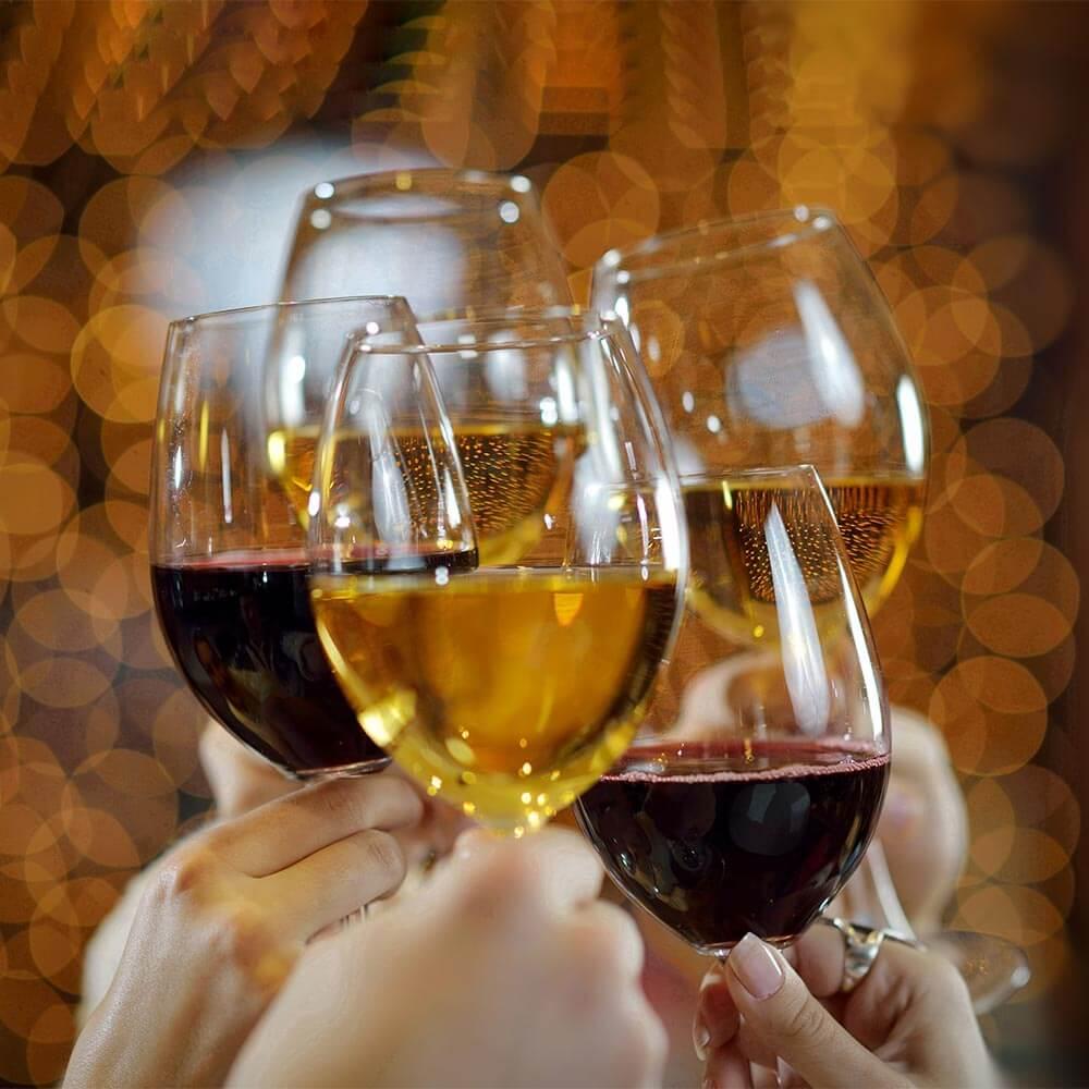 Enjoy a wine tasting