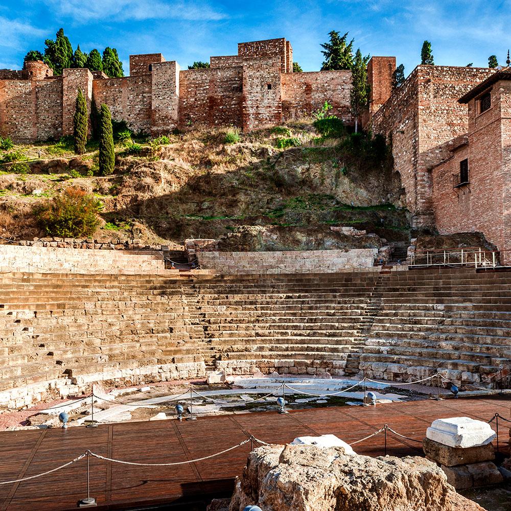 Roman amphitheatre, Málaga