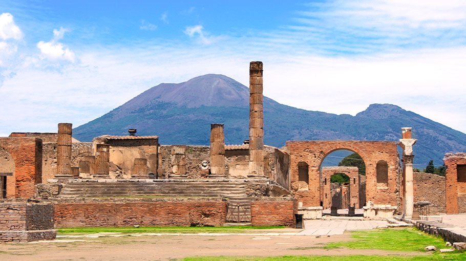 Remains of Pompeii