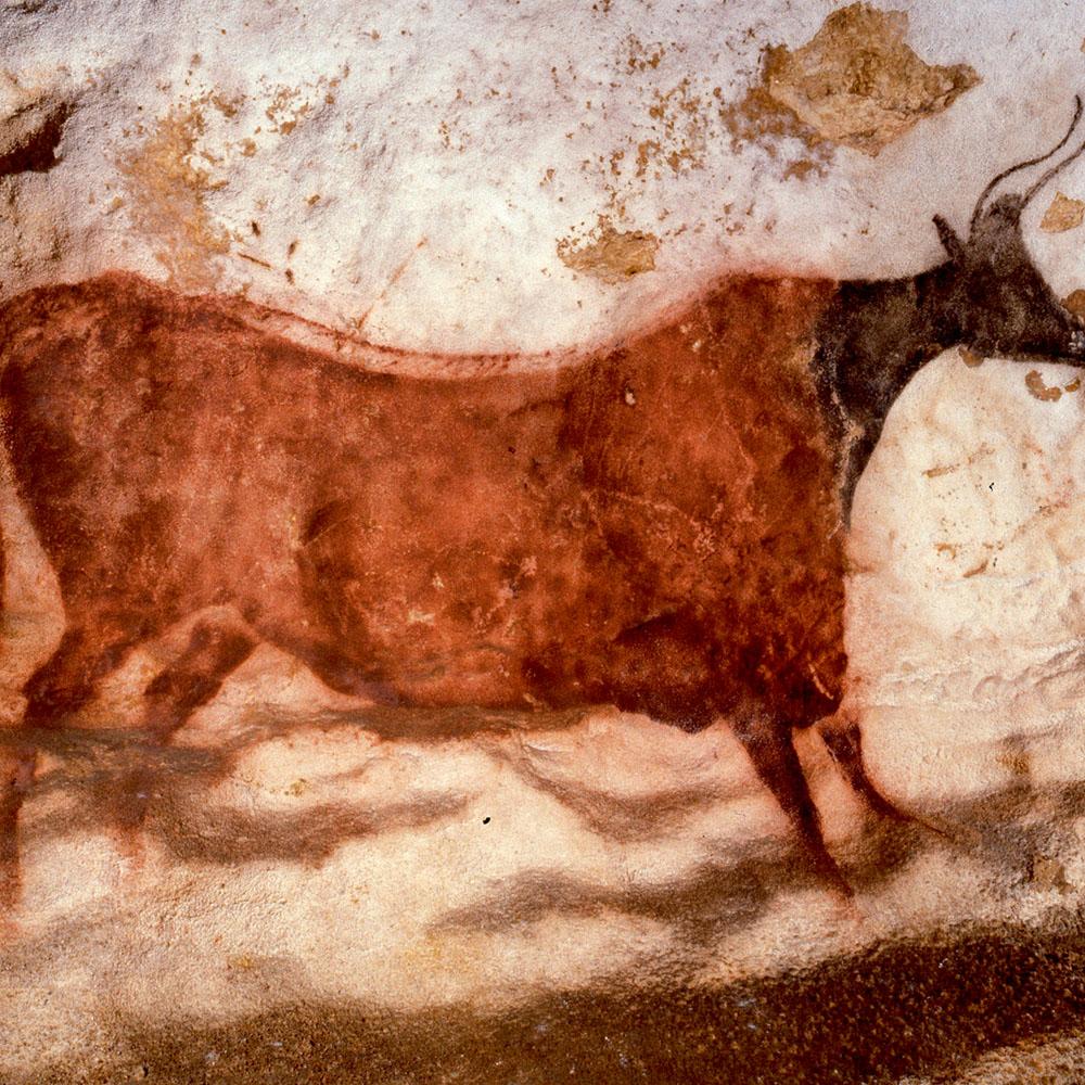 Cave painting at Lascaux