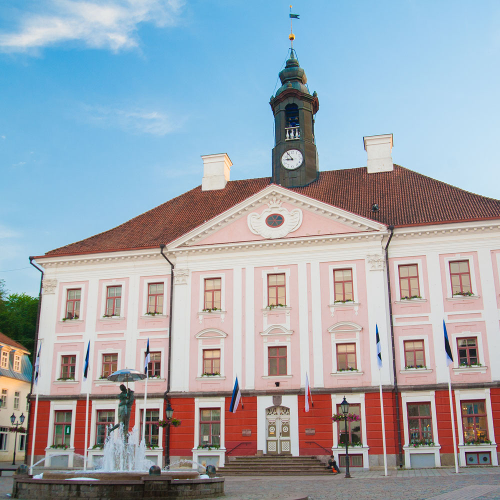 Old town hall in Tartu